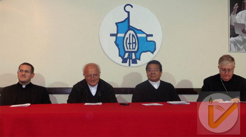 Agradecimiento a Mons. Eugenio Scarpellini y bienvenida a Mons. Aurelio Pesoa