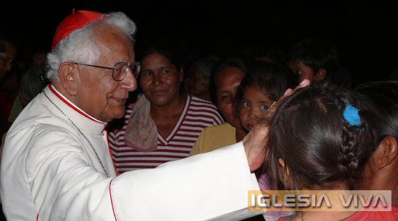 Cardenal se fortalece con las oraciones de los fieles