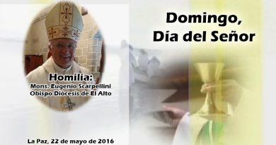 Mons. Scarpellini: No permitamos que nos esclavicen la mentira ni el poder