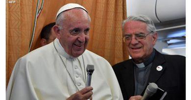 El Papa Francisco en rueda de prensa de regreso de Armenia