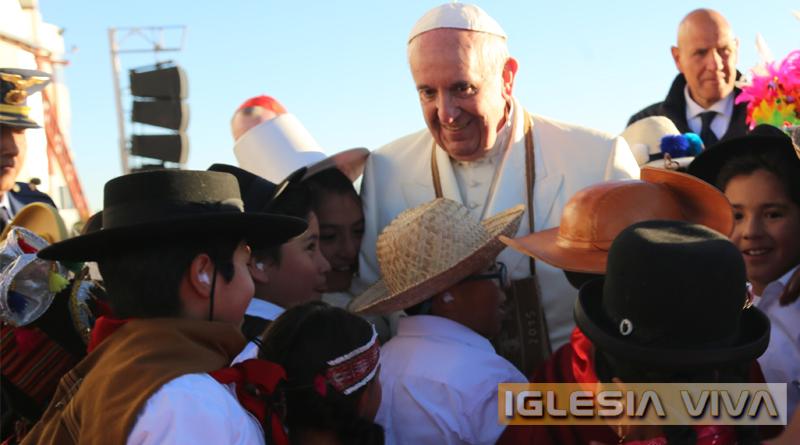 La Fiesta del Papa en Bolivia