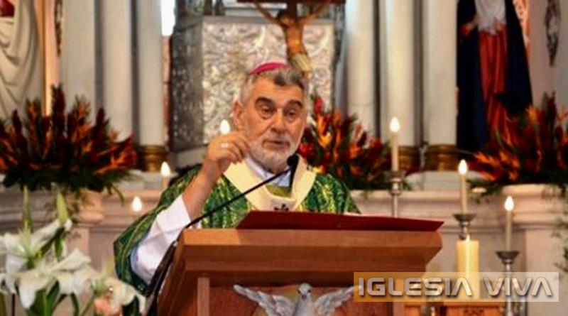 Homilía de Mons. Sergio Gualberti: La oferta de Jesús es para todos los hombres de todos los tiempos
