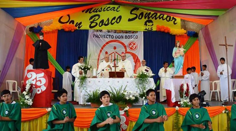 Muchas razones para festejar en el proyecto Don Dosco – Santa Cruz