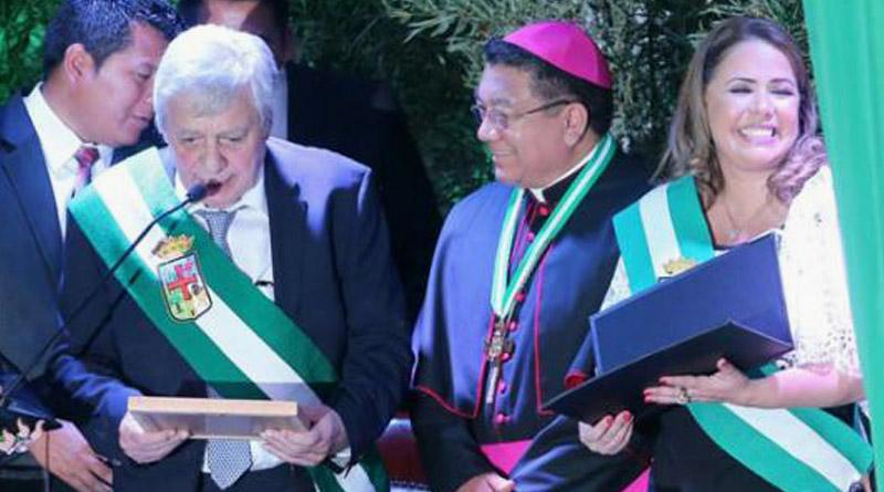 Mons. Aurelio Pesoa declarado Hijo Ilustre de Santa Cruz