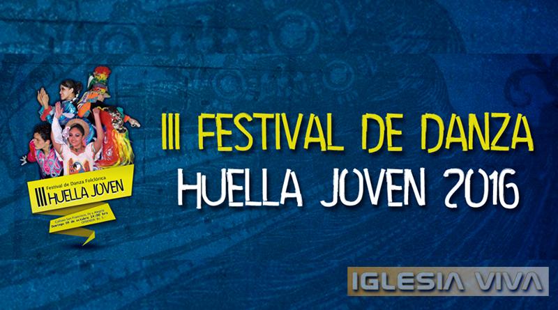 """Tercer año de """"Huella Joven"""" el festival de danza folclórica de la Pastoral Juvenil de Santa Cruz"""