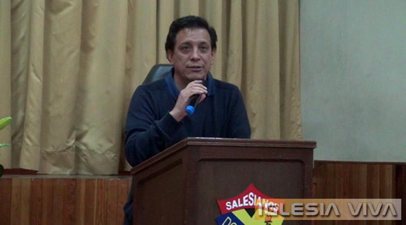 Semana de la misericordia comienza con charla en el Colegio Don Bosco