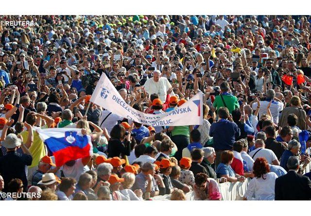 """Catequesis del Papa: """"El perdón en la cruz"""""""