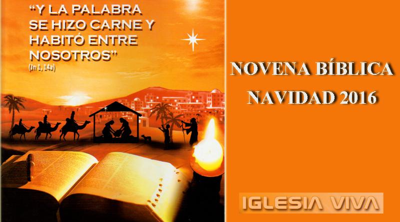 Novena Bíblica de Navidad 2016
