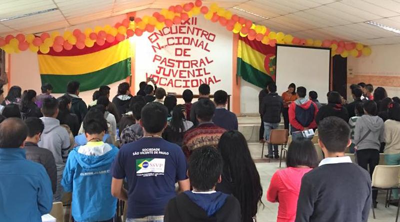 Inició XXXII Encuentro Nacional de Pastoral Juvenil Vocacional de Bolivia