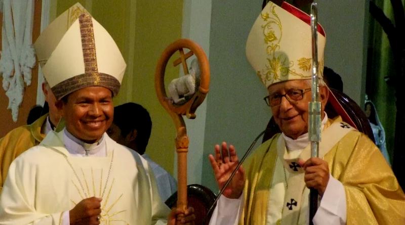 "Jamás busqué ser Obispo"" Monseñor René Leigue celebra su cuarto aniversario Episcopal"