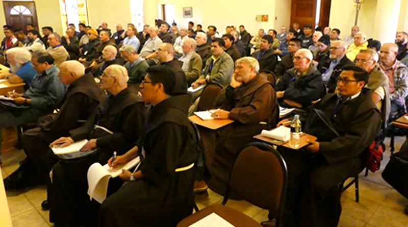 Hermanos Franciscanos de Bolivia reunidos en Capítulo Provincial