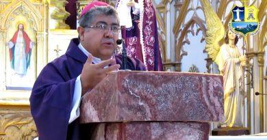 """Mons. Oscar Aparicio: """"Reconozcamos que el Señor es quien nos da la luz. Señor dame la luz"""""""