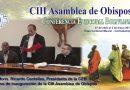 Discurso de Inauguración de la CIII Asamblea de Obispos de Bolivia