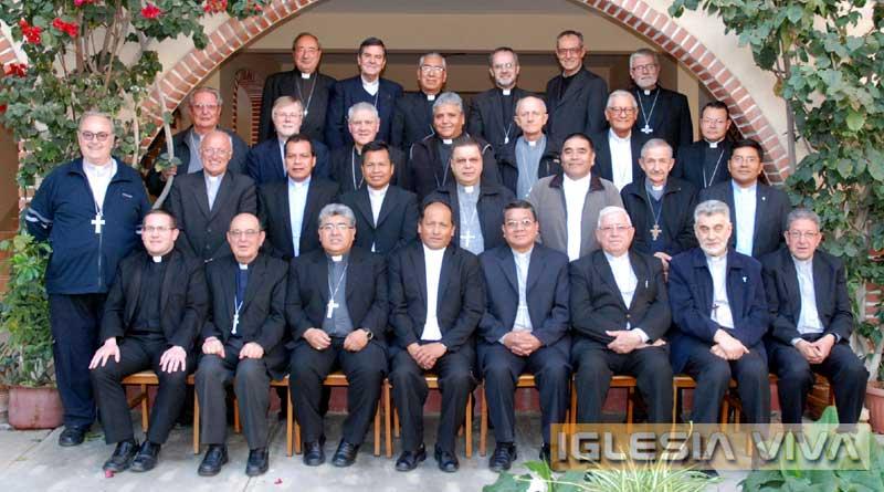 Foto oficial de la CIII Asamblea de los Obispos de Bolivia