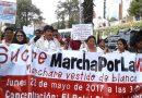 """Marcha por la vida en Sucre: """"Una Nación que mata a sus propios hijos, es una Nación sin futuro"""""""