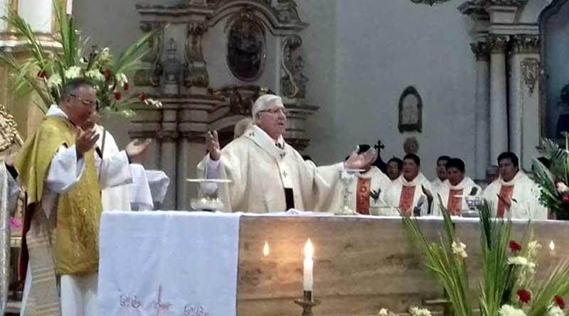 Iglesia saluda los 208 años de la gesta libertaria en Sucre