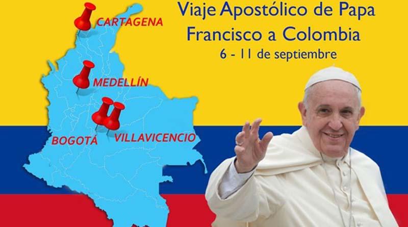 Alegría, esperanza y gran expectativa por el Viaje del Papa Francisco a Colombia