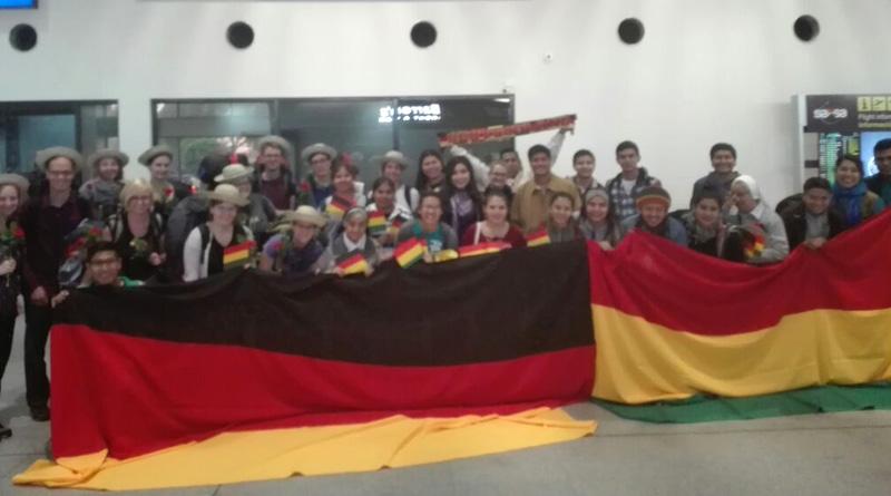 11 jóvenes de la Federación Juvenil Católica Alemana visitan Bolivia en un Viaje de Amistad
