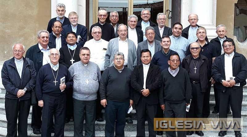 Obispos de Bolivia inician retiro espiritual