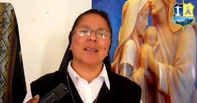 """""""La familia debe ser profeta en el mundo de hoy"""" Hna. Cilenia Rojas"""
