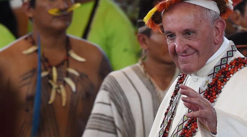 Encuentro del Papa con los Pueblos Amazónicos en Perú