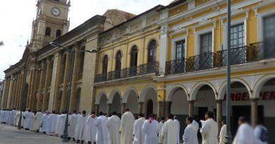 Cochabamba: Clero Diocesano vive Retiro Espiritual Anual