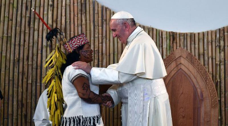 Papa: Iglesia con rostro amazónico e indígena, faceta del rostro de Cristo