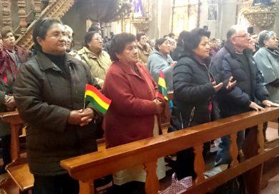 Triduo por la unidad de los bolivianos: Hoy más que nunca recurramos a Dios que es perdón, unidad, paz y reconciliación