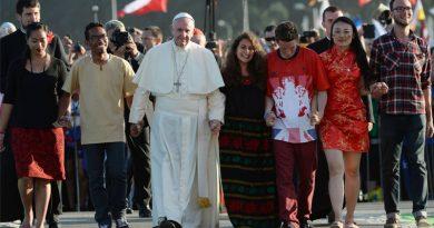 El Papa: ¡Jóvenes no teman! Dios nos llama por nuestro nombre