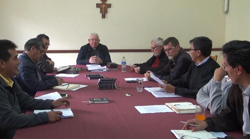Reunión del Consejo Presbiteral y Consejo de Vicarios en la Arquidiócesis de Sucre
