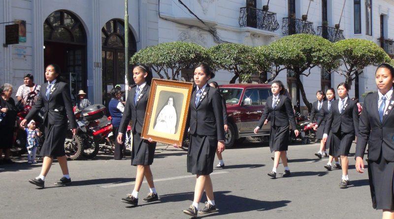"""100 Años del Colegio Técnico Humanístico """"Santa María Eufrasia"""" 1918 – 2018"""